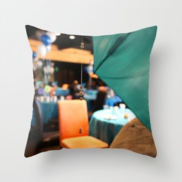 String of Pearls Throw Pillow