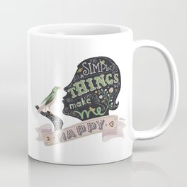 Simple Things Coffee Mug