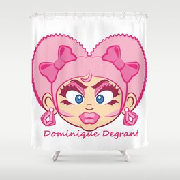 Dominique DeGrant Shower Curtain