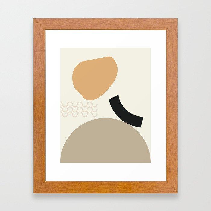 // Shape study #24 Framed Art Print