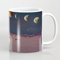 planets Mugs featuring Planets by Cs025
