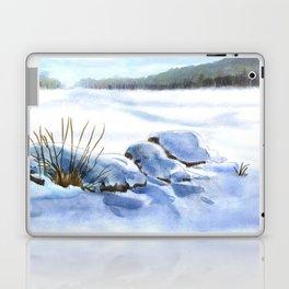 A Winter Study In Blues Laptop & iPad Skin