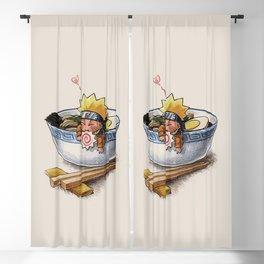 Japanese Ramen Blackout Curtain