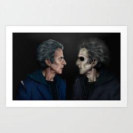 Finally someone worth talking to Art Print