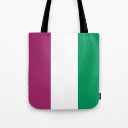 Flag of the suffragettes Tote Bag