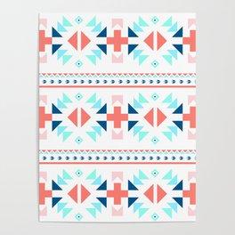 geometry navajo pattern Poster