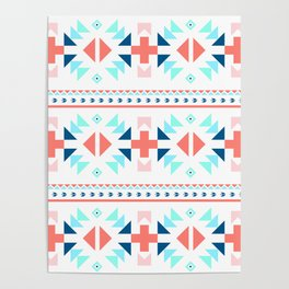 geometry navajo pattern Poster