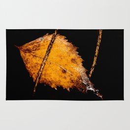 Birch leaf Rug
