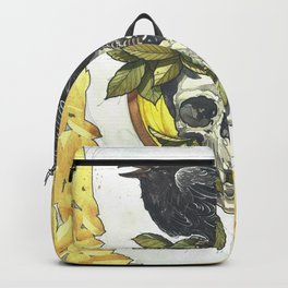 Skull and crow Backpack
