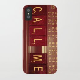 Call Me, Call Me Any Anytime iPhone Case