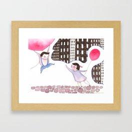 Billy's Balloon 03 Framed Art Print