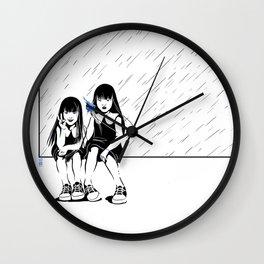 Anomalia Twins Wall Clock
