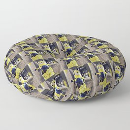 cidar top minion Floor Pillow
