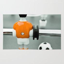 Table Football 02B - Defender - Orange (everyday 30.01.2017) Rug