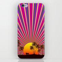 reggae iPhone & iPod Skins featuring Sunshine Reggae by A-Devine