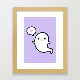 Cutie Ghost 02 Framed Art Print