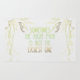 Grandmother Willow's Words Rug