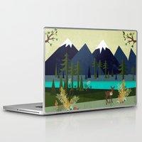 cartoons Laptop & iPad Skins featuring March by Kakel