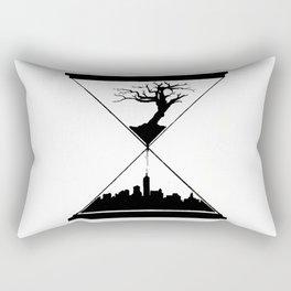 The Hourglass Rectangular Pillow