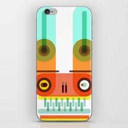 Electrical bunny iPhone Skin