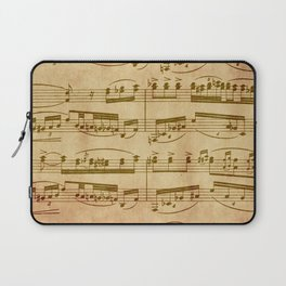 Vintage Sheet Music Laptop Sleeve