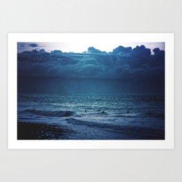 Dark Seas Art Print