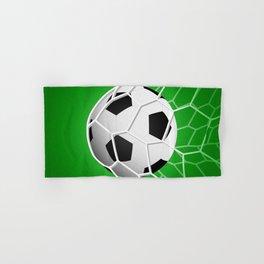 Soccer ball Hand & Bath Towel