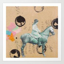 """""""Prized Pony"""" Art Print"""