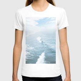 Blue Waves Surfer T-shirt