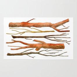 sticks no. 2 Rug