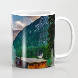 Pragser Wildsee or Lake Prags Italy Coffee Mug