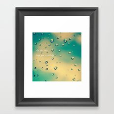 Let the Rain Sing you a Lullaby Framed Art Print