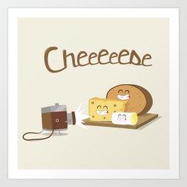 cheeeese Art Print