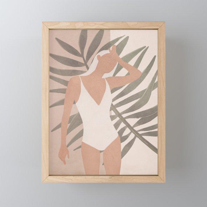 Summer Day Framed Mini Art Print