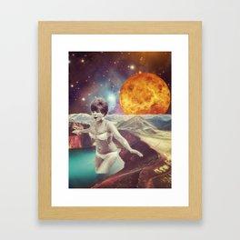 Venus is back... Framed Art Print