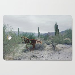 Mexican Horse Hide Cutting Board