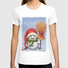 A little snowman T-shirt