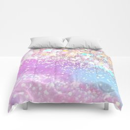 Pastel Kei Galaxy Comforters