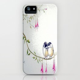 Two Chickadees iPhone Case