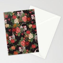 Opossum pattern Stationery Cards