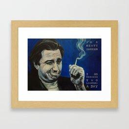 Bill Hicks - Smoker Framed Art Print