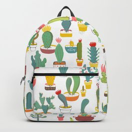 Cactuses in Pots Backpack