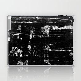 Distressed Grunge 102 in B&W Laptop & iPad Skin