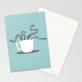 A Nice Cuppa, Tentacles and Winter Things Stationery Cards