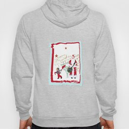 A French Script Christmas Hoody