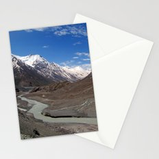 The Chandra River in the Lahaul Valley Stationery Cards