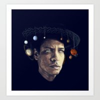 bruno mars Art Prints featuring BRUNO MARS by Itterdome