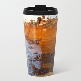 Sunset cliffs Travel Mug
