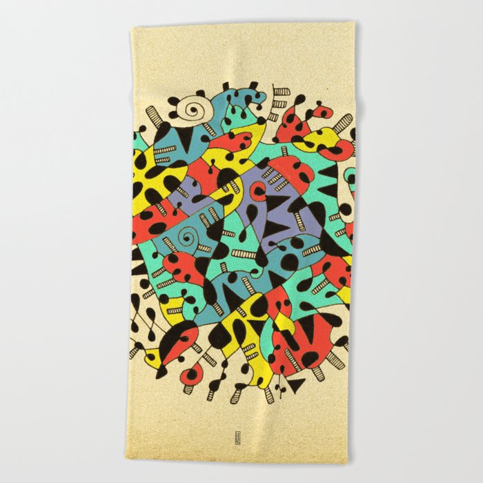 - age of the sun_02 - Beach Towel