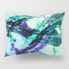 Vaporwave Style Abstraction Pillow Sham